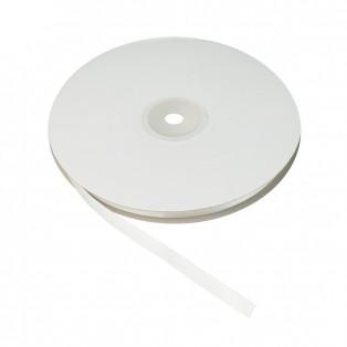 Лента атласная односторонняя 1см, цвет 04-молочный