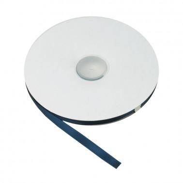 Лента атласная односторонняя 1см, цвет 182-темно-синий