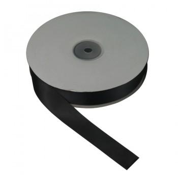 Лента атласная 2.5см, цвет 06-черный