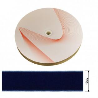 Лента бархатная 1.9см, цвет 109-синий