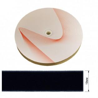 Лента бархатная 1.9см, цвет 125-темно-синий