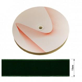 Лента бархатная 1.9см, цвет 179-зеленый