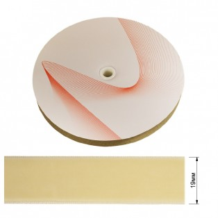 Лента бархатная 1.9см, цвет 242-молочный