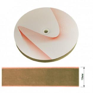 Лента бархатная 1.9см, цвет 260-песочный