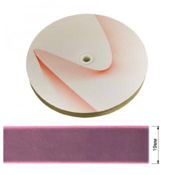 Лента бархатная 1,9см, цвет 336-cиреневый