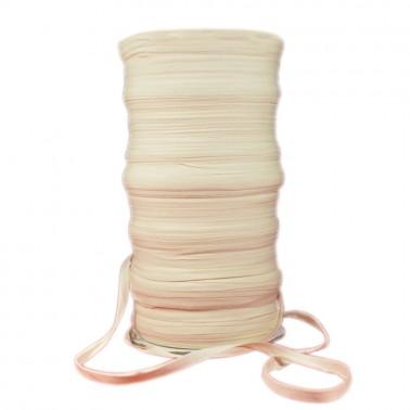 Тесьма плечевая х/б 0.8см, цвет молочный