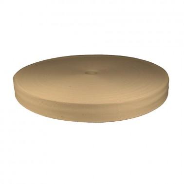 Лента киперная (плечевая) х/б 1.5см, цвет молочный