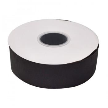 Лента репсовая 4см, цвет 06-черный