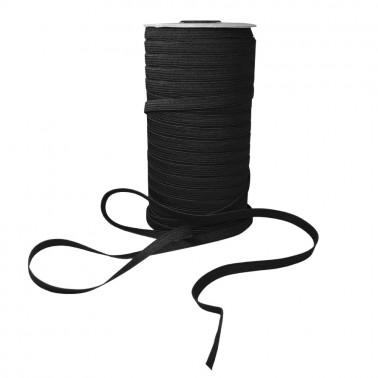 Резинка 0.8см, цвет черный