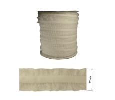 Резинка декоративная бархатная с рюшами