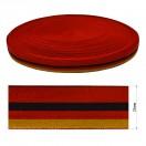 Резинка декоративная 2.5см, цвет красный+черный+желтый