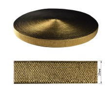 Резинка декоративная с люрексом 2.5см