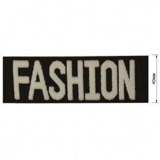 Резинка декоративная 4см,  Fashion ,  цвет черный+белый