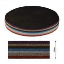 Резинка декоративная с люрексом 4см, цвет 10-разноцветный