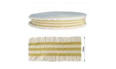 Резинка декоративная с люрексом 5см