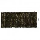 Резинка декоративная с люрексом 5см,  цвет черный+золото