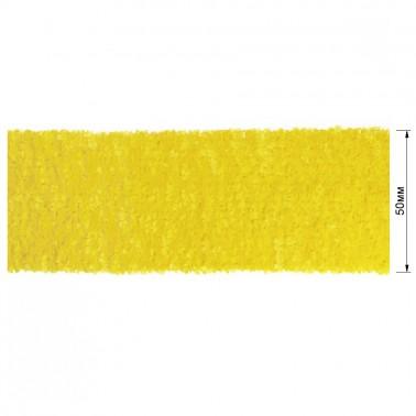 Резинка декоративная 5см,  цвет желтый