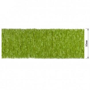 Резинка декоративная 5см,  цвет cветло-зеленый