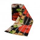Резинка декоративная 9см, цвет черный+красный
