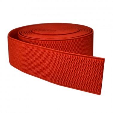 Резинка поясная 4см, цвет красный