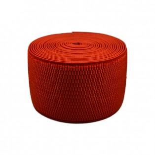 Резинка поясная 6см, цвет красный