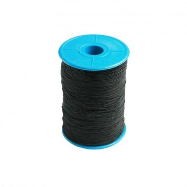 Нитка-резинка спандекс, цвет черный