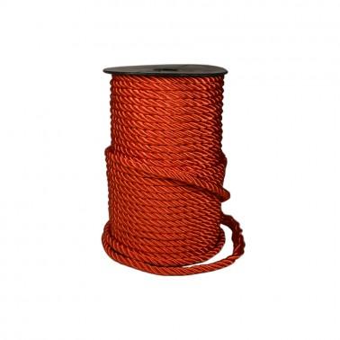 Шнур декоративный 0.6см, цвет красный