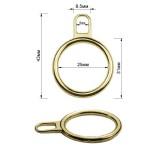 Пуллер, кольцо, тип 5, цвет золото