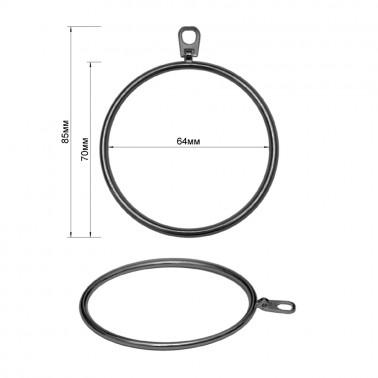 Пуллер, кольцо большое, тип 5, цвет оксид