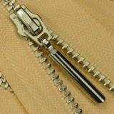 Молния металл неразъёмная 3Т, шлифованная 35см, слайдер 5071, зубцы никель, цвет 0769