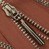 Молния металл разъёмная 3Т, шлифованная 50см, слайдер 5071, зубцы никель, цвет 0822