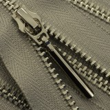 Молния металлическая разъемная 3Т, 55см, слайдер-5071, зубцы никель, цвет 0102