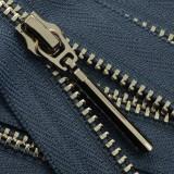 Молния металлическая разъемная 3Т, 55см, слайдер-5071, зубцы никель, цвет 0727