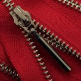 Молния металлическая разъемная 3Т, 55см, слайдер-5071, зубцы никель, цвет 0733