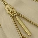 Молния металлическая разъемная 3Т, 70см, слайдер-5071, зубцы золото, цвет 101-белый