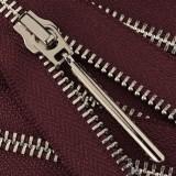Молния металлическая разъемная 5Т, 70см, слайдер палочка длинная-5070, зубцы никель, шлифованная, цвет 2165Y