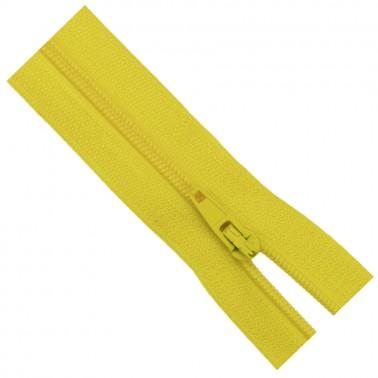 Молния юбочная, тип3,  20см, цвет 131D-желтый