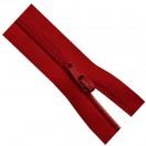 Молния юбочная, тип3, 20см, цвет 148 красный