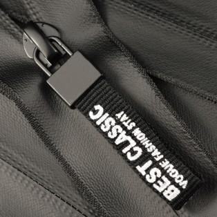 Молния витая неразъёмная водонепроницаемая Т5, 20см, слайдер -Best Classic, цвет 322-черный матовый