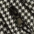 Молния витая разъёмная водонепроницаемая Т5, 70см, слайдер G30, цвет черный+белый матовый