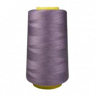 Нитки швейные 40/2 п/э, цвет 184-т.сиреневый