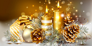С наступающими Новым годом и Рождеством